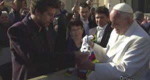 Sagan con Papa Francesco